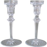 Crystal Candlestick Holders by Rogaska