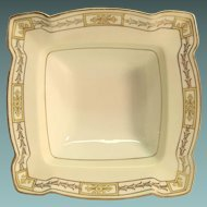 Nippon Hand Painted Square Bowl