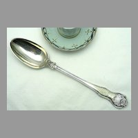 Sterling Stuffing, Basting Spoon Chawner & Co. London 1848