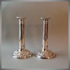 Pr. English Sheffield Candle Sticks ca. 1900