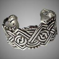 William Spratling Cuff Bracelet Sterling Mexico 1930's