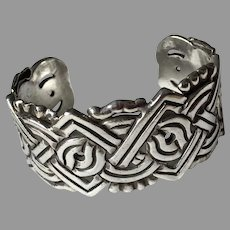 William Spratling Cuff Bracelet Sterling Mexico 1930's