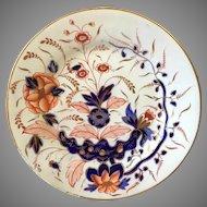 Staffordshire Imari Pattern Plate 19th Century