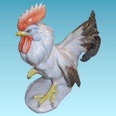Vintage Rosenthal German Porcelain Rooster Figurine