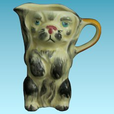 Vintage Dog Pitcher Keele St. Pottery England A