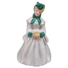 Vintage FLORENCE Ceramics ELAINE Figurine 1940s Retro Mid Century Modern MCM