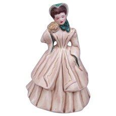Vintage FLORENCE Ceramics IRENE Figurine 1940s Retro Mid Century Modern MCM