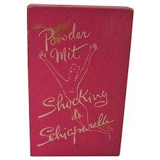 Vintage Shocking de Schiaparelli Perfume Powder and Mit in Original Box Elsa Schiaparelli