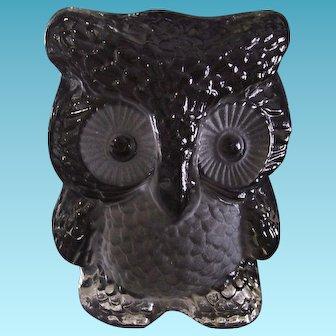Viking Art Glass Owl Bookend Paperweight