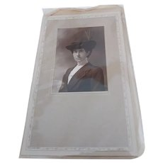 1900s CDV Cabinet Card Photo Woman Portrait