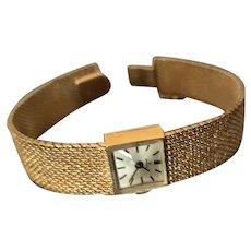 Ladies 14K Gold Dress Rolex Watch C. 1960s