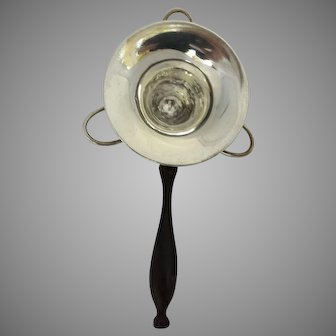 1920 Art Deco Sterling Silver Unusual Tea Strainer Free Shipping