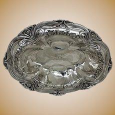 """Gorham Art Nouveau Sterling Silver 10 3/4"""" Bowl"""