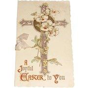 Vintage Easter Card Poem by Charlotte Murray