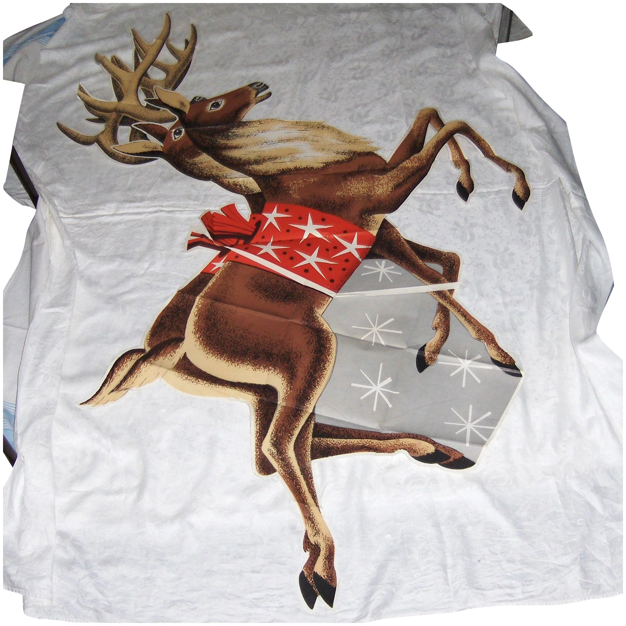Reindeer Pattern Plywood Magnificent Decorating Design
