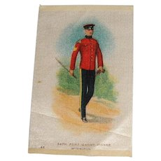 Vintage Tobacco/Cigarette Silk #46 Canadian Military