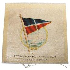 Vintage Tobacco/Cigarette Silk Digby Yacht Club