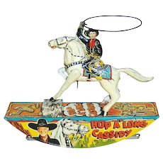 Hopalong Cassidy Marx Tin Litho Range Rider