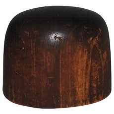 Hoff-Man Wooden Hat Block Millinery Mold #1