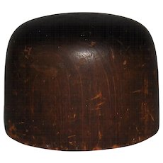 Hoff-Man Wooden Hat Block Millinery Mold #2