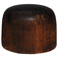 Hoff-Man Wooden Hat Block Millinery Mold #3