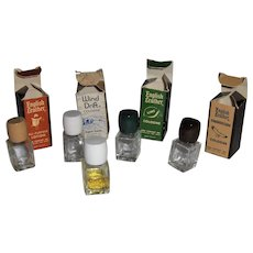 English Leather 5 Miniature Scent Bottles
