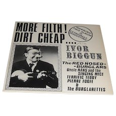 Ivor Biggun and The Red-Nose Burglars More Filth Dirt Cheap 1981 Album