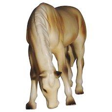 Creamy Vintage Fine Ceramic Numbered Horse Figurine