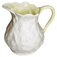 "Vintage ""Lotus"" Creamer Irish Belleek 5th Mark"