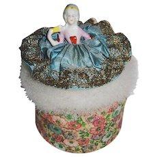 Sweet Swan's Down Powder Puff Half Doll