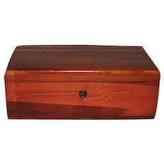 Small Cedar Chest Box for Trinkets or Jewelry