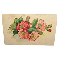 c1903 Vintage Postcard PFB Serie 2834 with Bouquet of Flowers