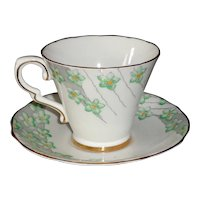 Gladstone England Bone China Cup and Saucer Pattern 5245