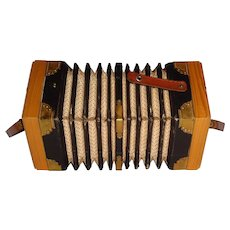 Playable German made Concertina