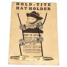 Hold-Tite Hat Holder on Original Card
