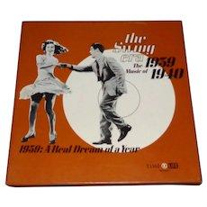 The Swing Era 1939, 1940 3 Album Set Hardback Insert, Tested