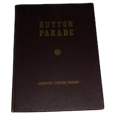 Button Parade 1942 by Dorothy F. Brown 2nd Edition