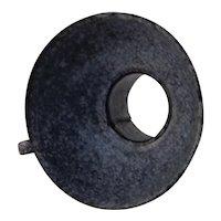 Gray Granite ware Jar Funnel 5 1/4 inch Solid Handle