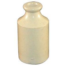 "Salt Glaze Stoneware Bottle 4 1/2 "" Tall"