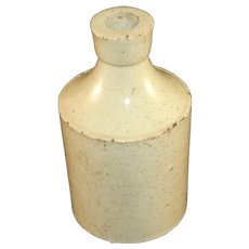"5"" Salt Glaze Stoneware Bottle"