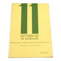 Steps to Survival Civil Defence Manual March 1961