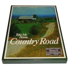 8 Track 4 Tape Box Set Take Me Home Country Road Untested