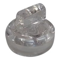 Mold Blown Apothecary Bottle/Jar Stopper 1 3/4""