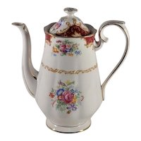 Canterbury by Royal Albert Coffee with Lid Reg. No. 832881