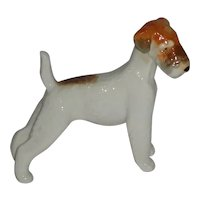 Vintage Porcelain Dog Made in U.S.S.R.