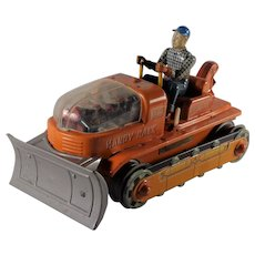 Handy Hank NO.112 Bulldozer Made in Japan Working