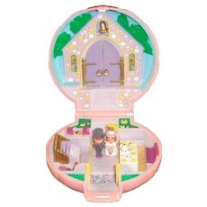 1989 Polly Pocket Bride Groom Flower Girl Bluebird, England