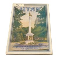 1934 Utah Tourist Guide Comp. Salt Lake City