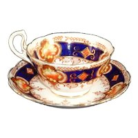 Royal Albert Crown China Cup & Saucer Reg. 723983