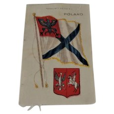 Vintage Nebo Cigarette Silk Poland No. 7,  3 x5